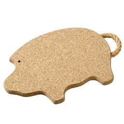 onderlegger kurk varken