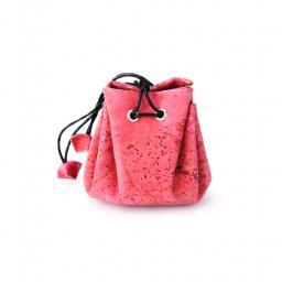 Munthouder roze kurk