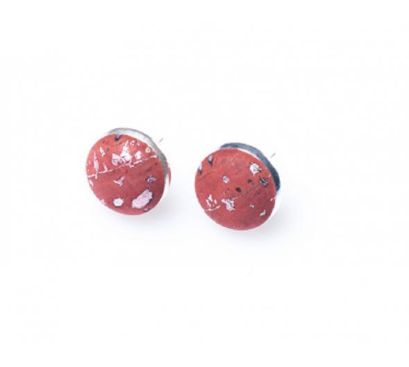 oorknopjes rood