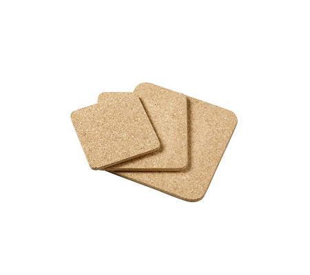 Onderzetters vierkant 3 set
