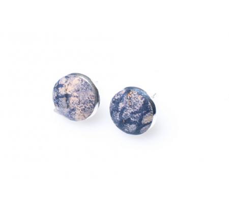 Oorknopjes blauw