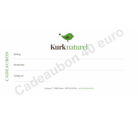 Kurknaturel cadeaubon 40 euro